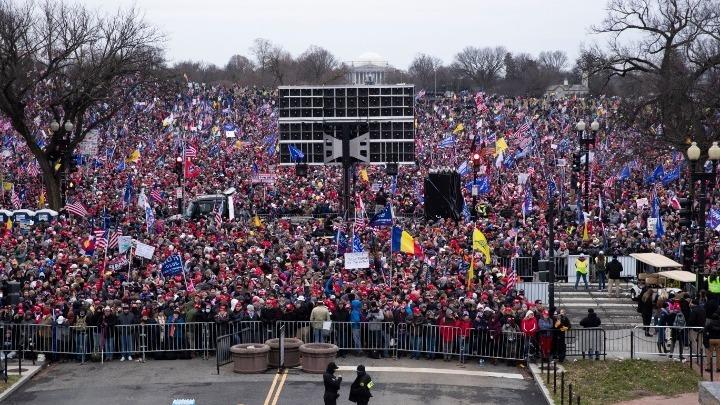 ΗΠΑ: Πλήθη υποστηρικτών του Ντ.Τραμπ κατευθύνονται στην Ουάσιγκτον