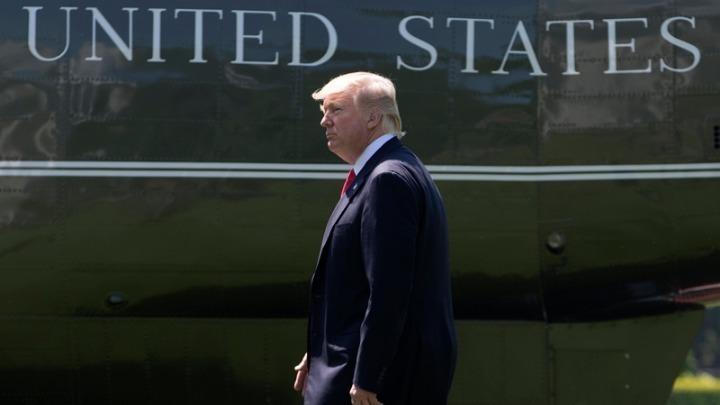 """Ο Ντ.Τραμπ αποχώρησε από τον Λευκό Οίκο. """"Θα επιστρέψω"""", είπε"""